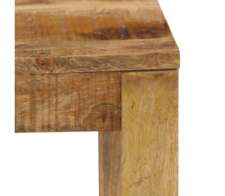 vidaXL Konferenční stolek 80 x 80 x 40 cm masivní mangovníkové dřevo[5/13]