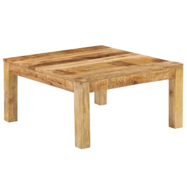 vidaXL Konferenční stolek 80 x 80 x 40 cm masivní mangovníkové dřevo[2/13]