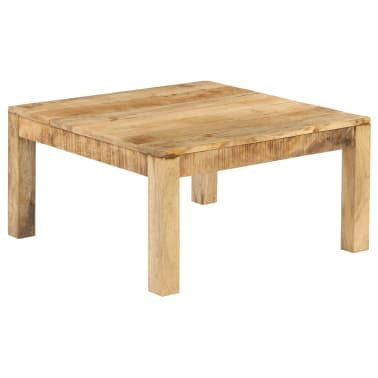 vidaXL Konferenční stolek 80 x 80 x 40 cm masivní mangovníkové dřevo[12/13]