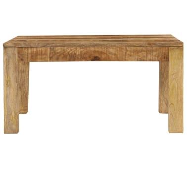 vidaXL Konferenční stolek 80 x 80 x 40 cm masivní mangovníkové dřevo[3/13]