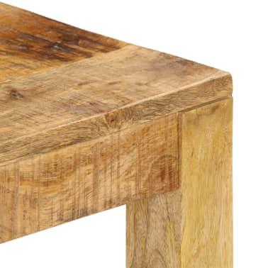 vidaXL Konferenční stolek 80 x 80 x 40 cm masivní mangovníkové dřevo[4/13]