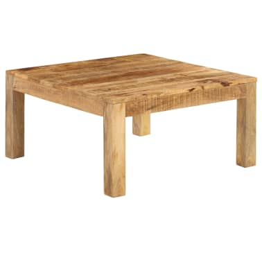 vidaXL Konferenční stolek 80 x 80 x 40 cm masivní mangovníkové dřevo[10/13]