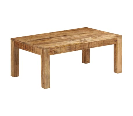 vidaXL Tavolino da Caffè in Legno Massello di Mango 100x60x40 cm[3/12]