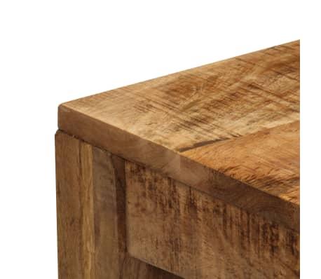 vidaXL Tavolino da Caffè in Legno Massello di Mango 100x60x40 cm[6/12]