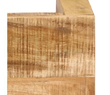 vidaXL Tavolino da Caffè in Legno Massello di Mango 100x60x40 cm[7/12]