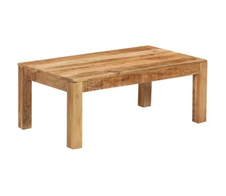 vidaXL Tavolino da Caffè in Legno Massello di Mango 100x60x40 cm[9/12]
