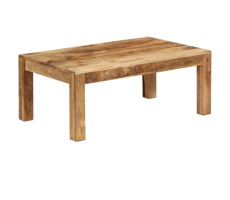 vidaXL Tavolino da Caffè in Legno Massello di Mango 100x60x40 cm[10/12]