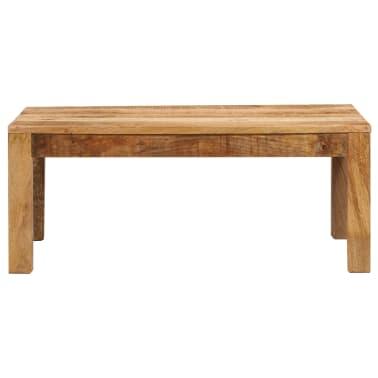 vidaXL Tavolino da Caffè in Legno Massello di Mango 100x60x40 cm[2/12]