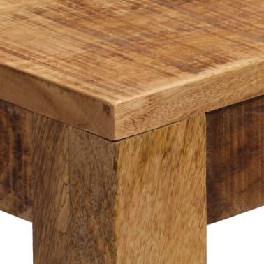 vidaXL Tavolino da Caffè in Legno Massello di Mango 100x60x40 cm[5/12]