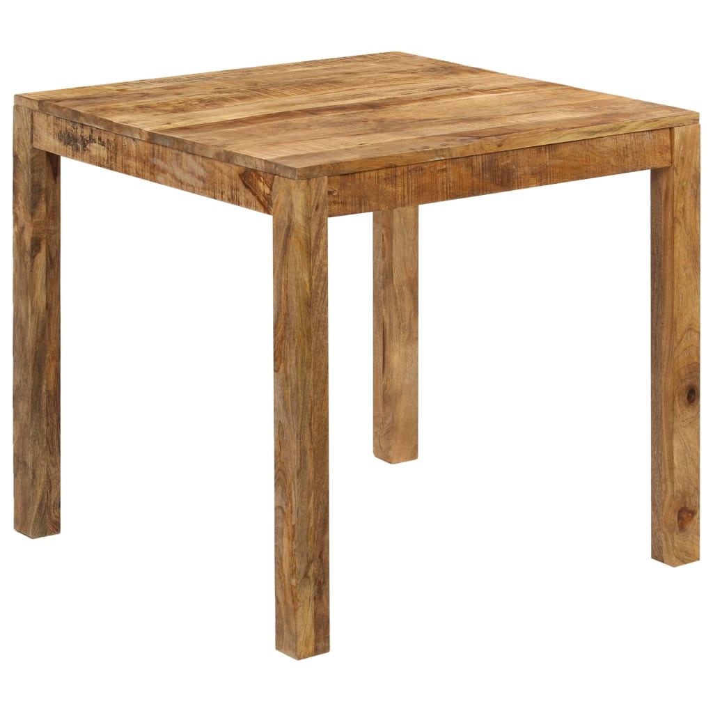 vidaXL Masă de bucătărie, 82 x 80 x 76 cm, lemn masiv de mango vidaxl.ro