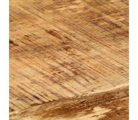 vidaXL Kavos staliukas, 110x60x47cm, mango medienos masyvas ir ketus[7/14]