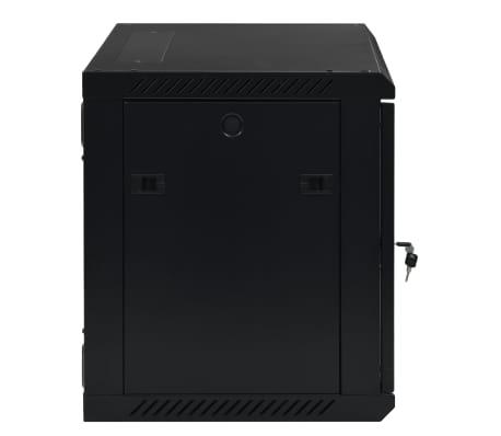 "vidaXL 9U Netzwerkschrank Wandmontage 19"" IP20 600x450x500 mm[3/9]"