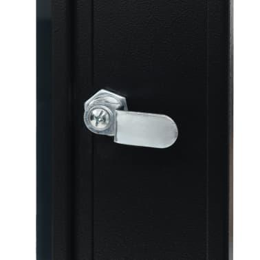 "vidaXL 9U Netzwerkschrank Wandmontage 19"" IP20 600x450x500 mm[6/9]"