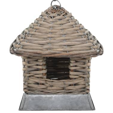 vidaXL Fågelholkar 3 st korg[2/3]