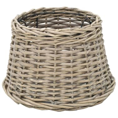 vidaXL Lamp Shade Wicker 30x20 cm Natural[1/4]