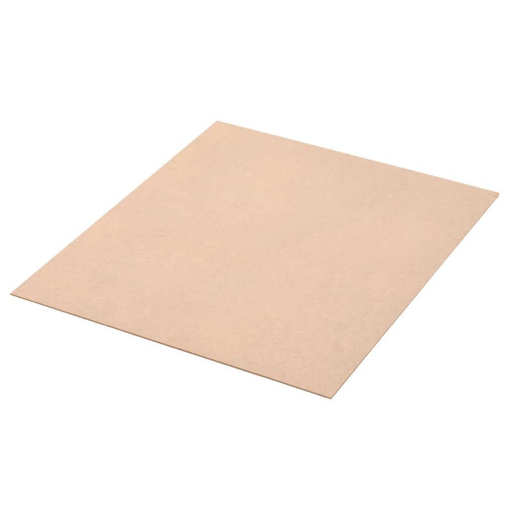 Image of vidaXL 10 pcs MDF Sheets Square 60x60 cm 2.5 mm