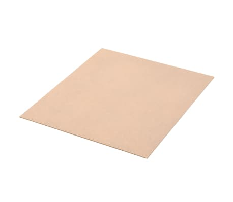 vidaXL 20 pcs MDF Sheets Square 60x60 cm 2.5 mm