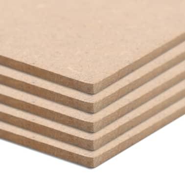 vidaXL MDF plokščių lakštai, 8vnt., 60x60cm, 12mm, kvadratiniai[3/6]