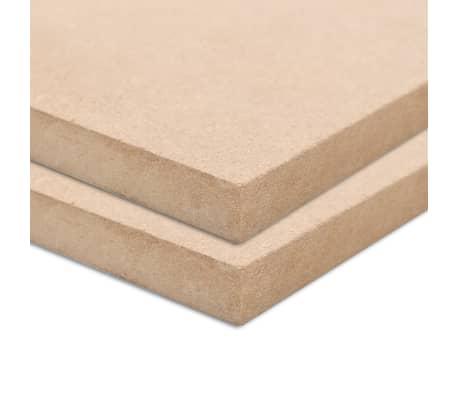 vidaXL Płyty MDF, 2 szt., prostokątne, 120 x 60 cm x 12 mm[2/6]