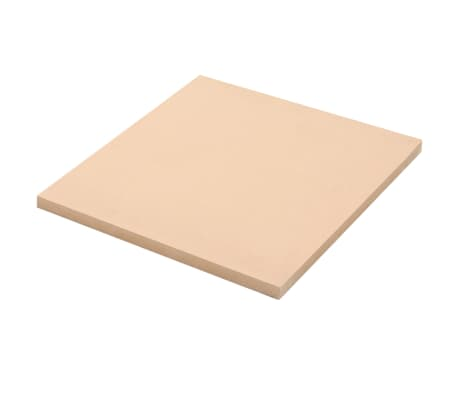 vidaXL 2 pcs MDF Sheets Square 60x60 cm 25 mm