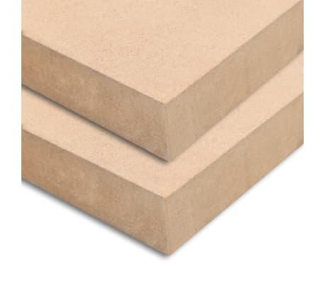 vidaXL 2 kosa MDF plošče kvadratne 60x60 cm 25 mm[3/6]