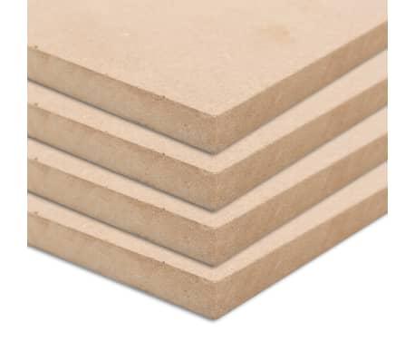 vidaXL MDF plokščių lakštai, 4vnt., 60x60cm, 25mm, kvadratiniai[1/6]