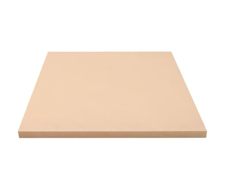 vidaXL MDF plokščių lakštai, 4vnt., 60x60cm, 25mm, kvadratiniai[3/6]