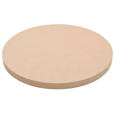 vidaXL Površina za mizo okrogla iz MDF-ja 400x18 mm[2/6]