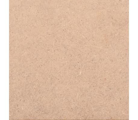vidaXL Dessus de table Rond MDF 500 x 18 mm[5/6]
