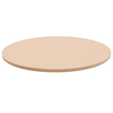 vidaXL Stalviršis, apvalus, MDF, 700x18mm[2/6]