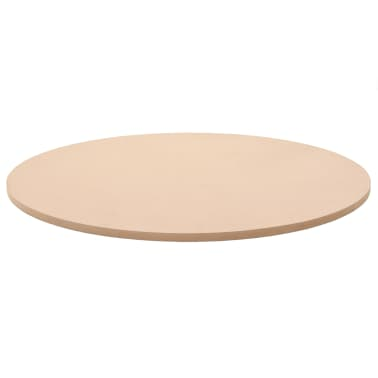 vidaXL Dessus de table Rond MDF 800 x 18 mm[2/6]