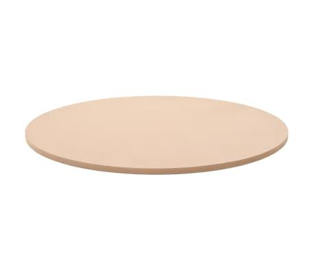 vidaXL Dessus de table Rond MDF 900 x 18 mm[2/6]