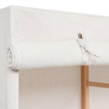 vidaXL 3-poziomowa szafa na ubrania, 110 x 40 x 170 cm[6/6]