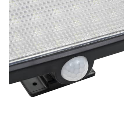 vidaXL Solar Lamp with Motion Sensor LED Lights White