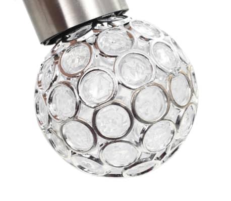 vidaXL Hängande solcellslampa 8 st LED-lampor RGB[6/12]