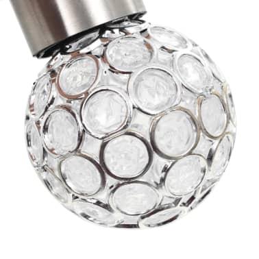 vidaXL Wiszące lampy solarne, 8 szt., LED RGB[6/12]