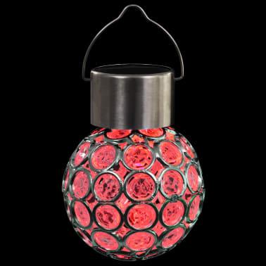 vidaXL Wiszące lampy solarne, 8 szt., LED RGB[10/12]