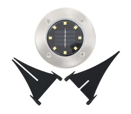 vidaXL solcellejordlys 8 stk. LED-lys hvid[6/6]