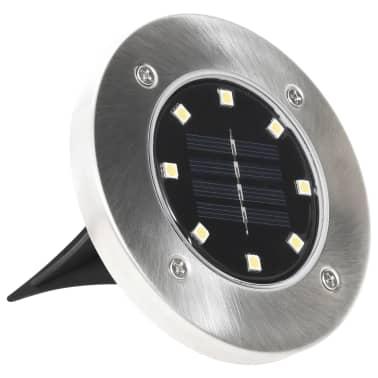 vidaXL solcellejordlys 8 stk. LED-lys hvid[4/6]