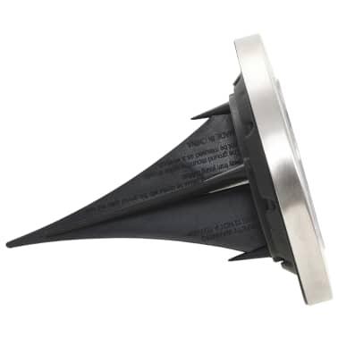 vidaXL Marklampor soldrivna 8 st LED vit[5/6]