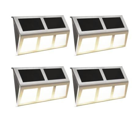 vidaXL solcellelamper 4 stk. LED-lys varm hvid[1/7]