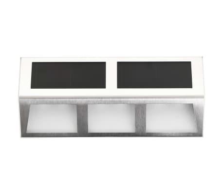 vidaXL solcellelamper 4 stk. LED-lys varm hvid[2/7]