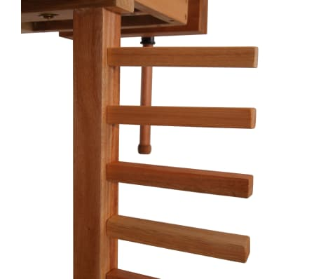 vidaXL Carpentry Work Bench with Drawer 2 Vises Hardwood[7/9]