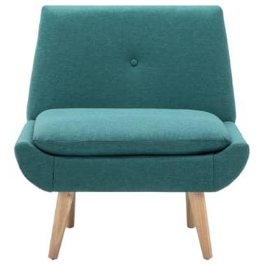 vidaXL Fåtölj tyg 73x66x77 cm grön[3/8]