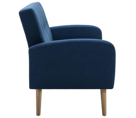 Vidaxl 3 sitzer sofa stoff blau im vidaxl trendshop for Sofa 4 sitzer stoff