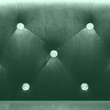 vidaXL lænestol fløjl grøn[6/7]