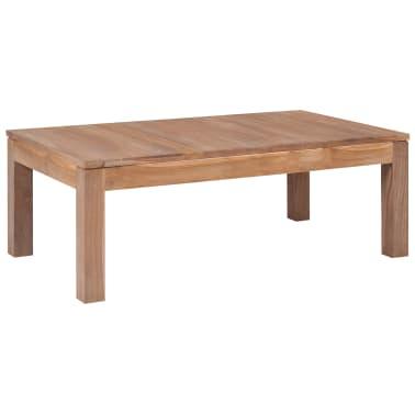 vidaXL Kavos staliukas, 110x60x40cm, tik. med. mas. su natūr. apd.[1/8]
