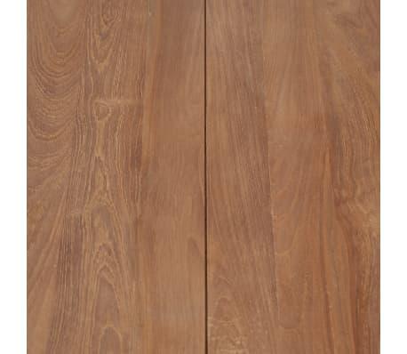 vidaXL Kavos staliukas, 110x60x40cm, tik. med. mas. su natūr. apd.[7/8]