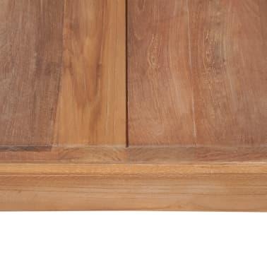 vidaXL Kavos staliukas, 110x60x40cm, tik. med. mas. su natūr. apd.[6/8]