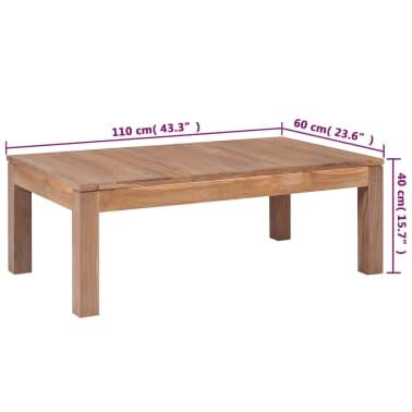 vidaXL Kavos staliukas, 110x60x40cm, tik. med. mas. su natūr. apd.[8/8]
